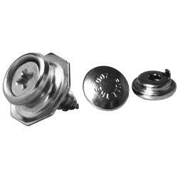 B.P Circulaire, PULL THE DOT sécurité version dur, Calotte Ø15mm, boule à vis