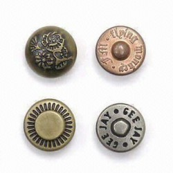 Rivet de coin de poche 10mm & clou en laiton