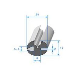 Profil à Clé - 17x24mm