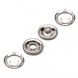 B.P à double anneau à griffes Ø10mm