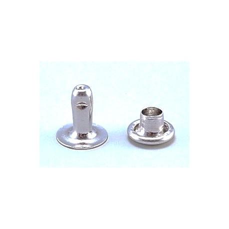 RIVET TUBULAIRE Simple calotte Ø5,8mm – Mâle ouvert H 7,5mm