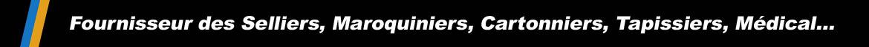 T'buttons Industries, fournisseur des Selliers, Maroquiniers, Cartonniers, et du monde médical